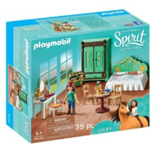 Playmobil Spirit  Lucky's Bedroom
