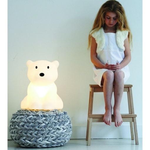 Polar Bear Nanuk Lamp