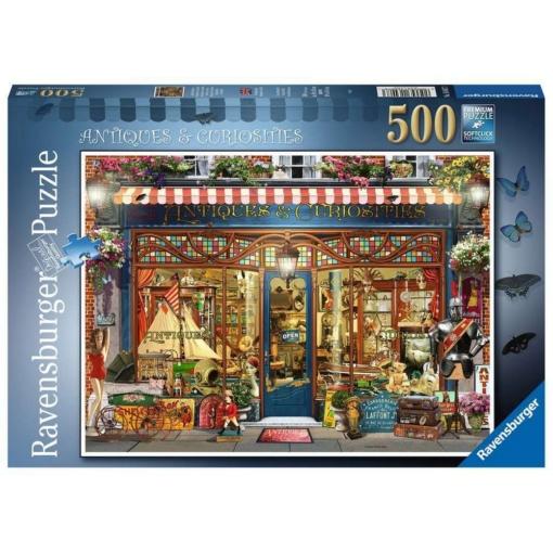 Ravensburger Antiques and Curiosities Puzzle 500 Pieces