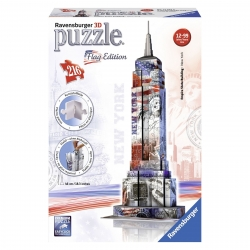 Ravensburger Empire State Flag Edition 3D Puzzle 216 Pieces
