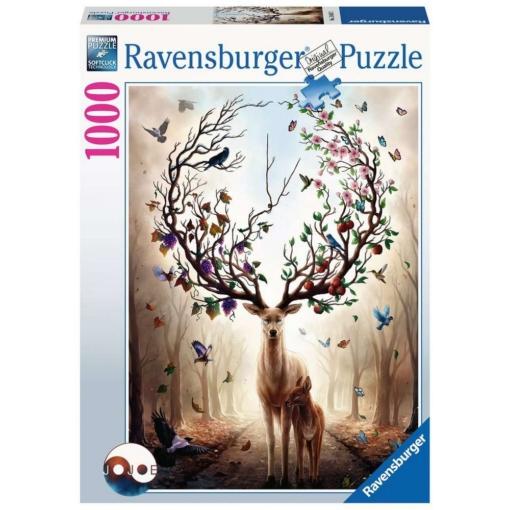 Ravensburger Magical Deer 1000 Piece Puzzle