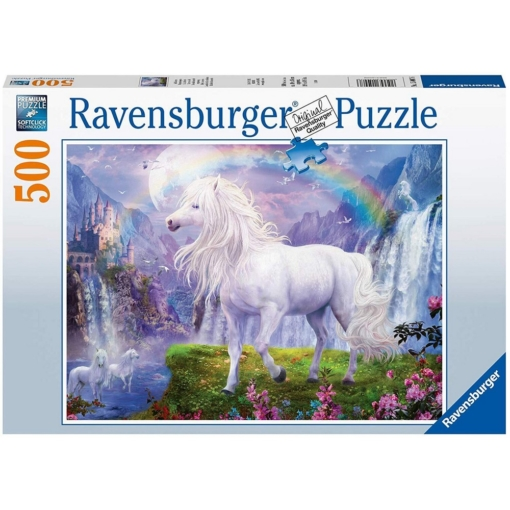 Ravensburger Mystic Steeds 500 Pieces