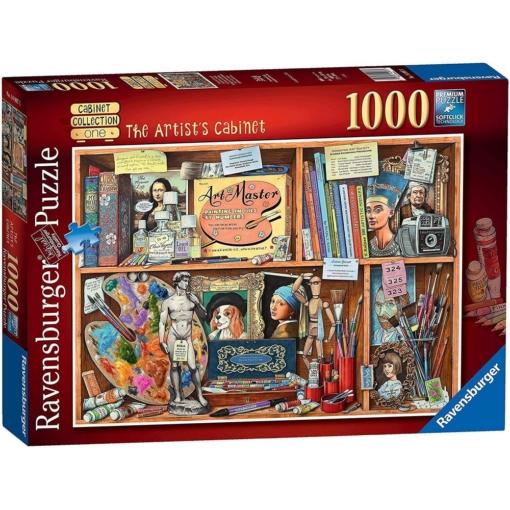Ravensburger The Artist's Cabinet Puzzle 1000 Pieces