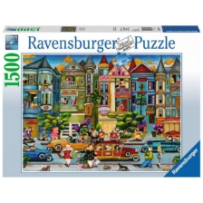 Ravensburger The Painted Ladies Puzzle 1500 Pieces