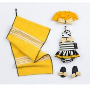 Santoro London Gorjuss Doll Clothing Beach Belle