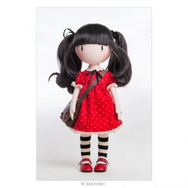 Santoro London Gorjuss Doll Ruby
