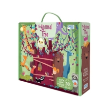 Sassi The Animal Tree Giant Puzzle and Book Set 30 Pieces