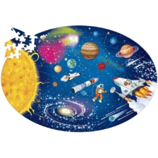 Learn and Explore Puzzle and Book Set Space 205 Pieces