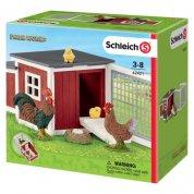Schleich Chicken Coop with Chicks