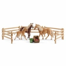 Schleich Horse Club Haflinger Family in the Meadow