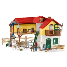 Schleich Large Farm House And Accessories