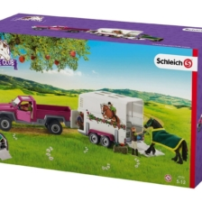 Schleich Pick Up Truck And Horse Box Trailer Horse Club