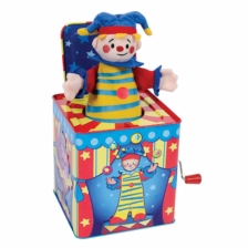 Schylling Jack in the Box Silly Circus