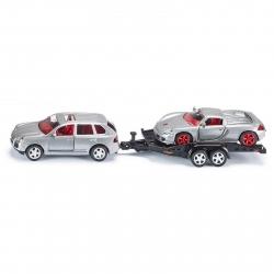 Siku - Car and Trailer - 1:55 Scale