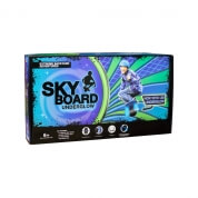 Slackers Sky Board Blue with LED Underglow