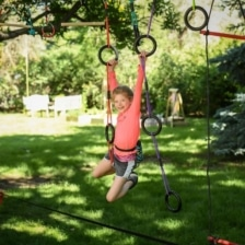 Slackers Tri Ring Vine Climber