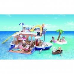 Sylvanian Families Seaside Cruiser Houseboat