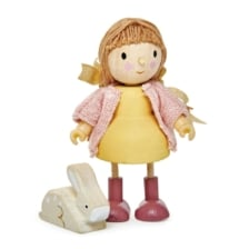 Tender Leaf Amy Doll and her Rabbit