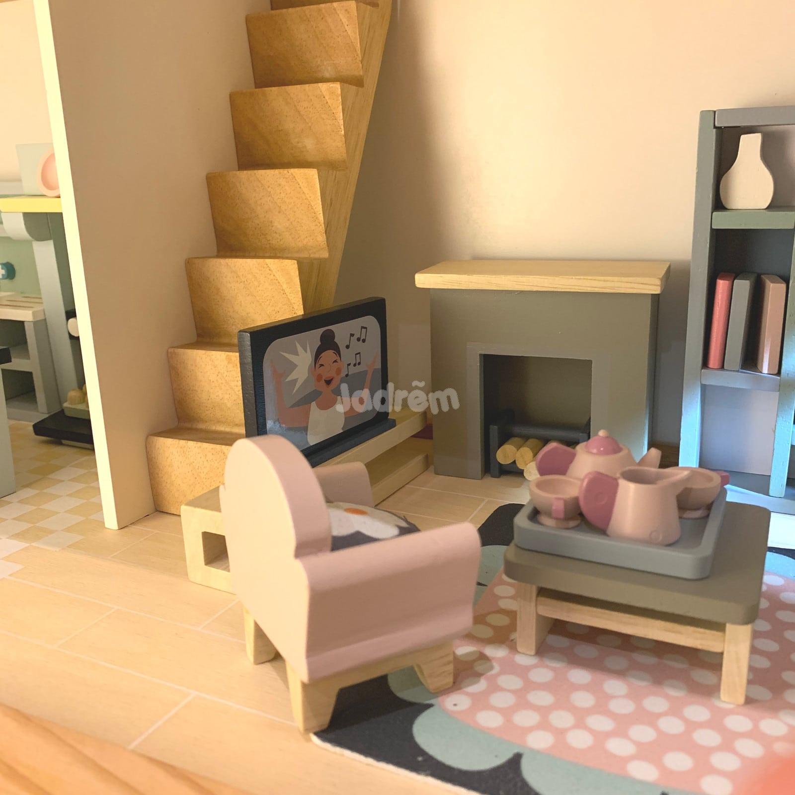 Tender Leaf Dovetail Sitting Room Dolls House Furniture Jadrem Toys