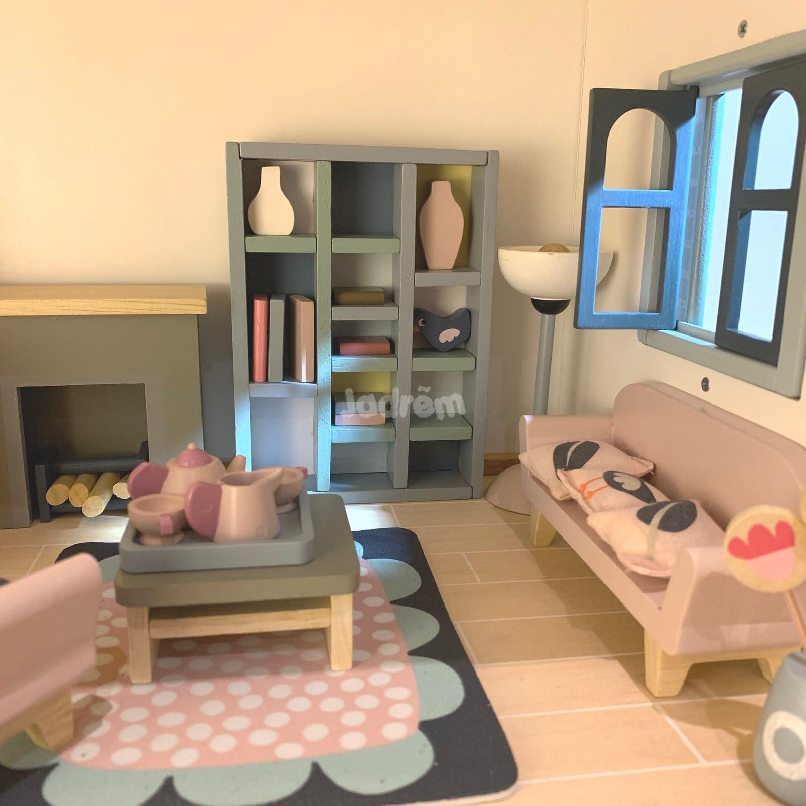 Tender Leaf Dovetail Sitting Room Dolls House Furniture