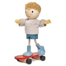 Tender Leaf Edward Doll and his Skateboard