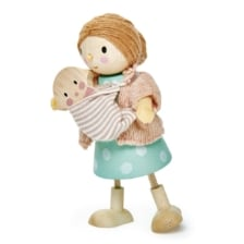 Tender Leaf Mrs Goodwood Doll and Baby