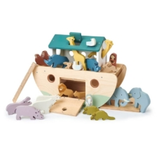 Tender Leaf Noah's Wooden Ark with Animals