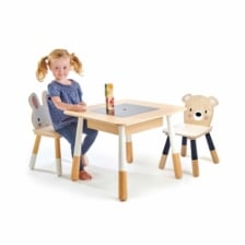Tender Leaf Toys Forest Wooden Table and 2 Chairs