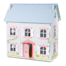 Tidlo Ivy Wooden Dollhouse Furnished Bundle