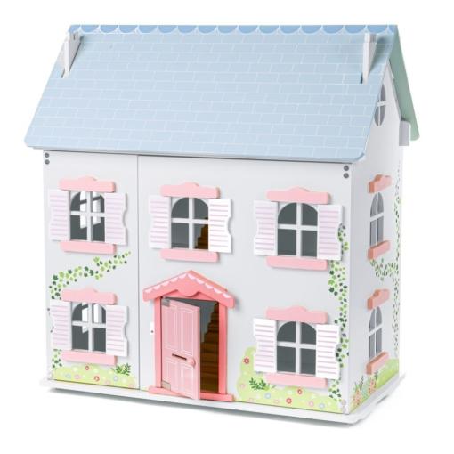 Tidlo Ivy Wooden Dollhouse Furnished Bundle
