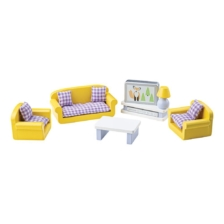 Tidlo Wooden Dolls House Living Room Furniture