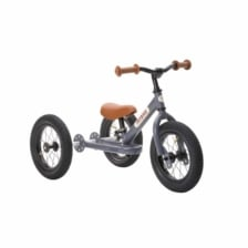 Trybike Steel 2 in 1 Balance Bike Grey