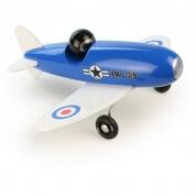 Vilac Blue Aerobatic Wooden Plane