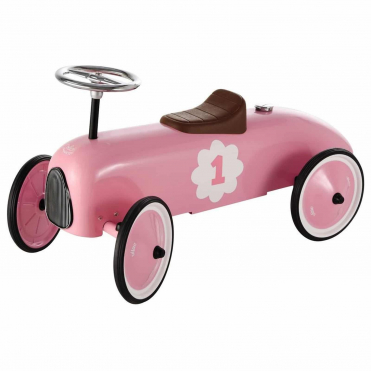 Vilac Ride On Classic Car Pink