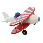 Vilac White Wooden Biplane