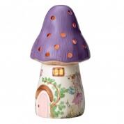 White Rabbit England Bramble Toadstool Lamp Lilac