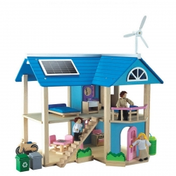 Wonderworld Eco Wooden Dolls House