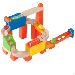 Wonderworld Trix Track 2 Way Flipper Marble Run