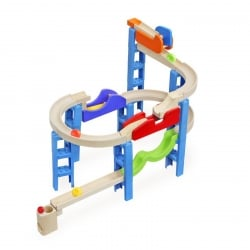 Wonderworld Trix Track Bouncing Spiral Track Marble Run