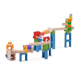 Wonderworld Trix Track Cat and Mouse Track Marble Run