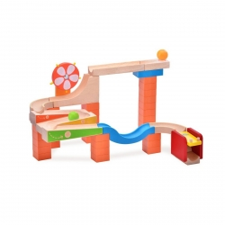Wonderworld Trix Track Glow and Roll Marble Run
