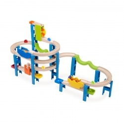 Wonderworld Trix Track Spiral Coaster Track Marble Run