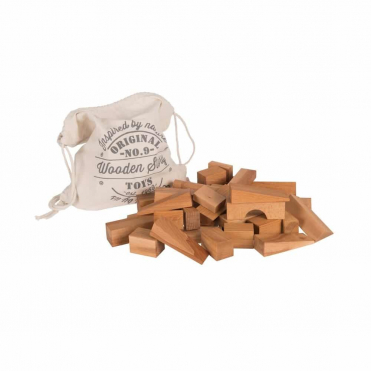 Wooden Story XL Natural Blocks 50 Pieces